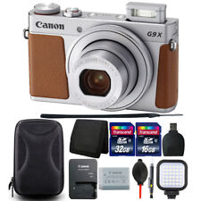 Canon Powershot G9 X Mark II 20.1MP Digital Camera with Complete Accessory Kit