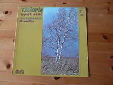 TCHAIKOVSKY SYMPHONY NO.4 in F minor SNO A Gibson  Orig 1975 UK LP CFP 40228