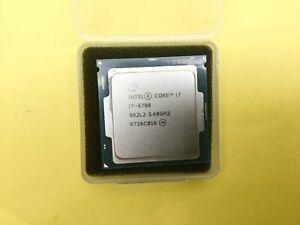SR2L2 Intel Core Processor i7-6700 Socket LGA 1151 3.4GHz 8MB SmartCache CPU