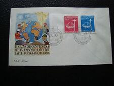 VATICAN - enveloppe 1er jour 13/10/1967 (cy72)