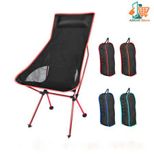 Portable  Folding Camping Chairs Lightweight Fishing Camping BBQ Free Shipping