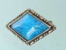 Art Deco Sterling Silver Butterfly Wing Brooch Pin 925/S