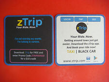 Beer COASTER: zTrip Your Ride Now ~ Get $10 Transport Credit After Free Download