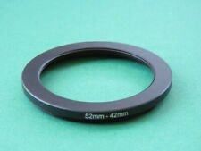 52mm to 42mm 52-42 Step Down Male-Female Lens Filter Ring Adapter 52mm-42mm