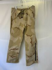 Genuine Military Goretex Pants med long Desert Camo  Cold Weather  Rain Pants