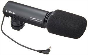panasonic DMW-MS1 External Stereo Microphone for DMC-G2 GH1 FZ100 GH2 GENUINE