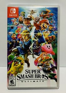 Super Smash Bros. Ultimate Game (Nintendo Switch, 2018) Tested
