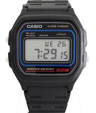 Casio W-59-1VQES Digital Armbanduhr schwarz NEU & OVP