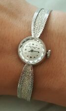 Vintage Jules Jurgensen 18K White Gold Ladies Watch FRANCE 17 GRAMS!!