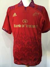 Munster Rugby Ireland Irish 2018 /2019 Shirt Jersey Red Adidas LARGE new