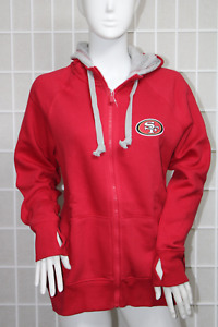 Women's NFL San Francisco 49ers Antigua Victory Hood Size M New With Tags