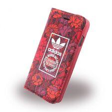 Adidas Bohemian bolso book cover Apple iPhone 7, funda protectora para móvil estuche rojo nuevo