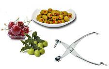 Imperdibile snocciolatore in alluminio per olive ciliegie levanocciolo manuale