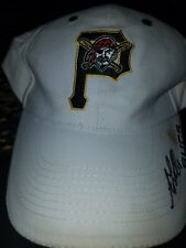 vintage Pittsburgh Pirate baseball cap signed by Doug Drabek! received in person