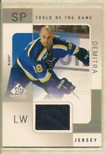 2000-01 Upper Deck SP Game Used Tools of the Game PAVOL DEMITRA Game-Used Jersey