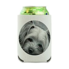 Yorkshire Terrier Yorkie Tired Dog Can Cooler Drink Hugger Insulated Holder