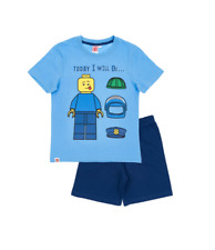 Boys Kids Official Various Short Sleeve Pyjamas Top & Shorts Age 3 - 12 Years