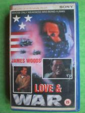 LOVE AND WAR  (JAMES WOODS)    -   BIG BOX ORIGINAL RARE & DELETED