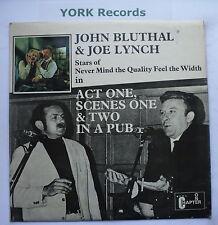 John bluthal & Joe Lynch-acte une scène une & deux dans un PUB-EX ARNAQUE LP record