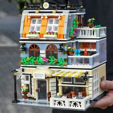 1316Pcs Creator Architecture Building Blocks City Street View Brick Garden Hotel