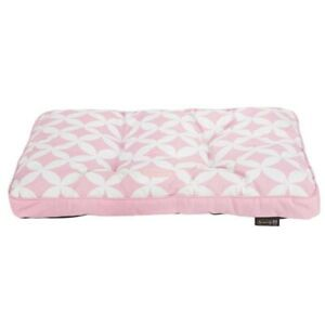 SCRUFFS Pink Florence Dog Mattress Dog Bed Medium
