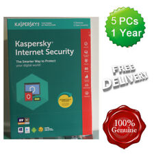Kaspersky Internet Security 2018 5 Users Multi device inc Antivirus UK