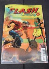 Flash #22 Lenticular 3D Variant The Button Part Two Batman Rebirth DC Comics