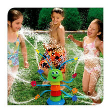 Wiggling Waterpillar 8 Sprinkling Water Sprinkler Garden Summer Toy Outdoor Kids