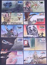 #2765 World War II: 1943 Bevil FDC Set (01019932765001)