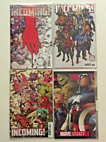 MARVEL INCOMING #1 3 COPIES PREMIERE UNMASKED PARTY GREENE VARIANTS + LEGACY