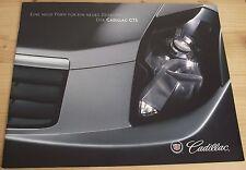 Prospekt Cadillac CTS 2001