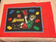 Vintage Lego Maniac Red Pillowcase