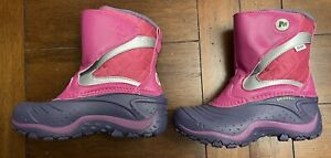 Merrell Snow Boots Purple Pink Girls, Size: 1 Brand New