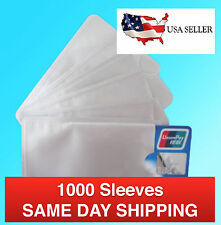 1000 Safety Sleeves RFID Protectors Credit Card & Identity Protection Bulk Lots