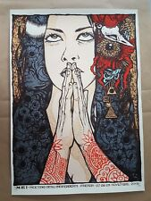 Mei Festival Faenza ITA 2009 Silkscreen Poster Art Malleus Signed and Numbered