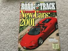 2001 Mercedes Benz C320 Road and Track  Magazine