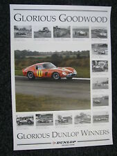 Poster Glorious Goodwood, Glorious Dunlop Winners (JS)