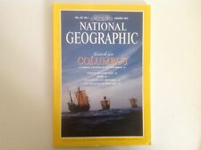 NATIONAL GEOGRAPHIC SOCIETY MAGAZINE JANUARY 1992