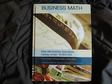 Business Math, Math with Business Applications (3rd Edition, Hardcover)