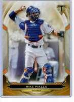 Mike Piazza 2019 Topps Triple Threads 5x7 Gold #77 /10 Mets