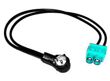 Câble adaptateur d'antenne auto autoradio double FAKRA-ISO pour auto voiture