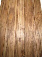 Teak Brett Holz Bohle Teakholz Schnittholz rusctic 122x13cm 50mm