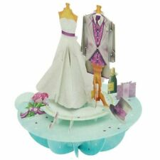 Santoro 3D Pirouette Greeting Card - Wedding
