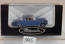 Brekina Starmada 1/87 Mercedes Benz 220S Coupe W 180 II fernblau OVP #945