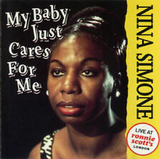NINA SIMONE Live at Ronnie Scott's London My Baby Cares For Me (CD, 1993) Import
