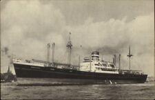 Holland American Line Steamship SS S.S. Soestdijk Old Postcard