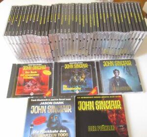 47 x CD´s John Sinclair SPV LÜBBE 20-36,41-43,55-75 + Sonderfolgen