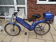 Blue Thompson Electric E Bike Euro Classic 2 Rear Box 2 Keys Twist/Pedal Assist