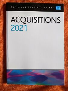 Acquisitions 2021 (CLP Legal Practice Guides Textbook)