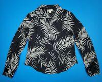 Tommy Bahama Women's Floral Hawaiian Shirt Button Down Blouse Silk Sz Small
